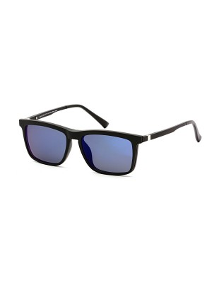 Cooline 056 black/blue mirror 2V1 54/16/142 + clip-on