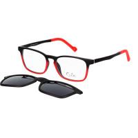 Cooline 132 matt black/red 2V1 47/16/136 + clip-on